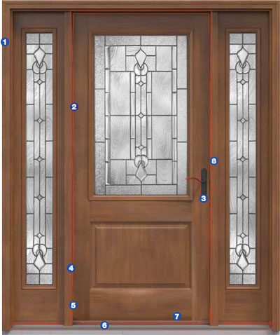 Entry Front Doors Doors Double Entry Window World Mn